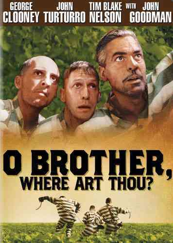 O BROTHER WHERE ART THOU BY CLOONEY,GEORGE (DVD)